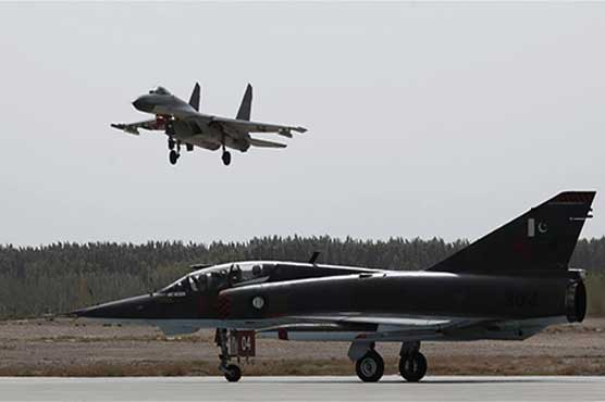 Pak-China sophisticated air forces joint exercise Shaheen VI continues in China
