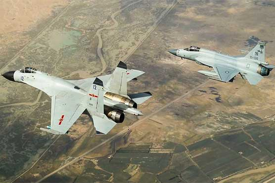 China says air force drills with Pakistan deter terrorists