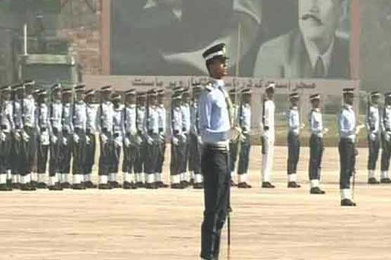 119th passing out parade of Combat Support Force held in Risalpur