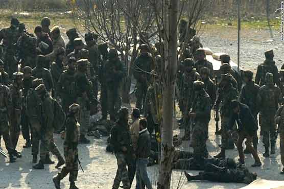 12 militants gunned down in Kashmir encounters