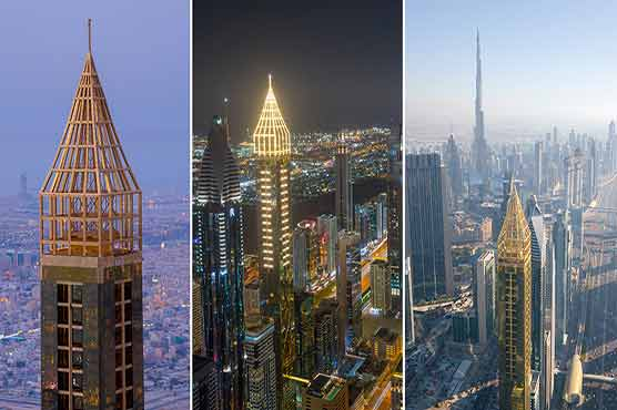 Dubai's 75-storey Gevora Hotel is officially the tallest in the world