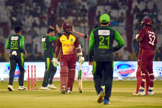 West Indies score 153-6 in 3rd Pakistan T20