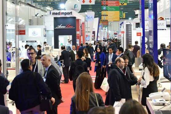 Pakistani companies participate in Expomed Eurasia in Istanbul