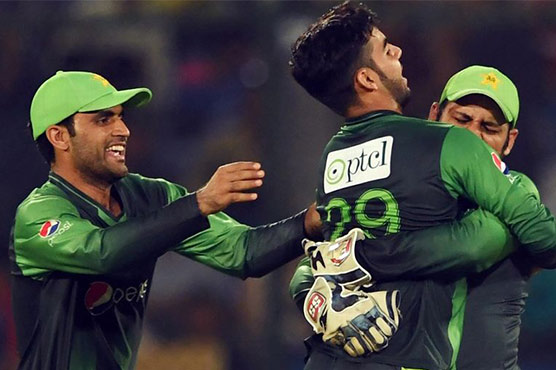 Pakistan legspinner Shadab Khan fined for abusing West Indies' Chadwick Walton