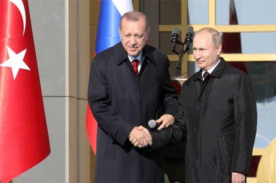 Putin tightens Turkey alliance with nuclear project, Syria talks