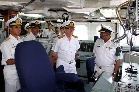 Commander Turkish Naval Forces visits Naval Field Commands in Karachi, Lahore