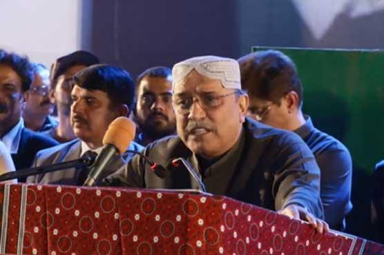 Sharif, Imran playing politics to make money: Zardari