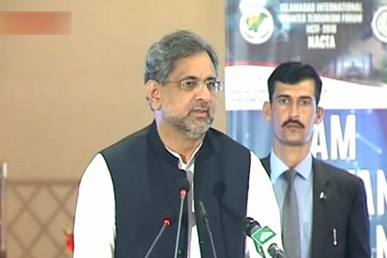India launching 'brutal crackdown' in Kashmir: Pak PM Shahid Khaqan Abbasi