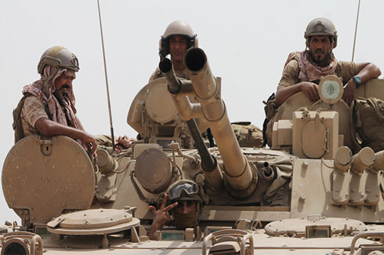 Saudi-led coalition says missile downed near Yemen border