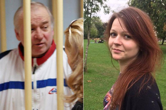 Russian ex-spy's poisoned daughter says growing stronger