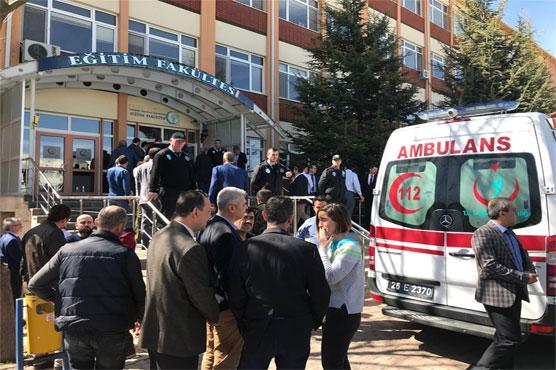 Researcher kills four staff at Turkish university