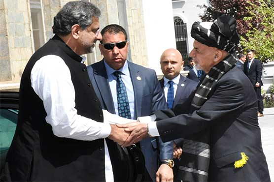 PM Abbasi extended an invitation to President Ghani to visit Pakistan