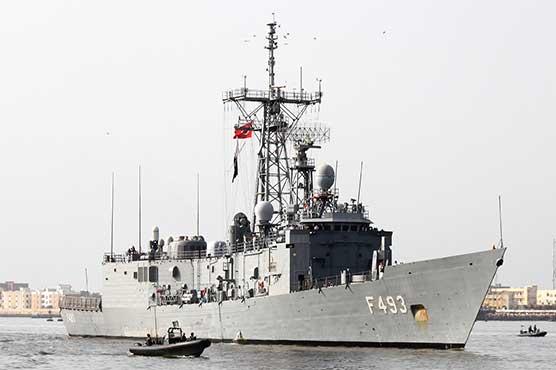 Turkish navy ship TCG Gelibolu reaches Karachi