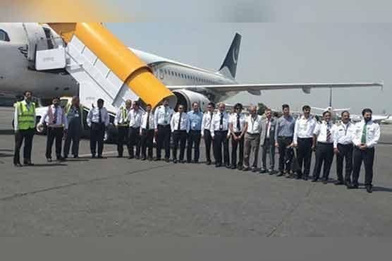 PIA makes first historic mock landing at newly-built Islamabad airport