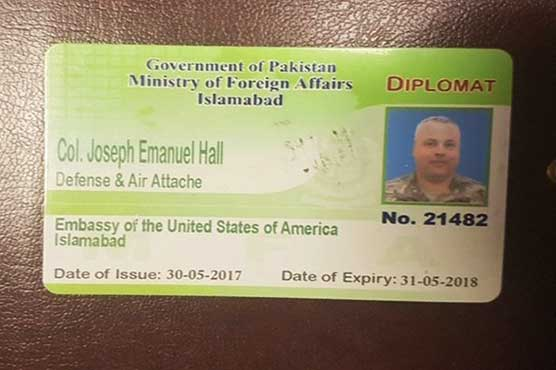 Pakistan police seek travel ban on US diplomat over crash