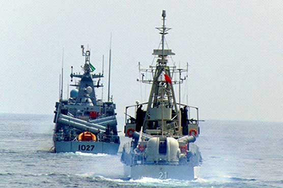Pakistan Navy flotilla participates in multinational drills Gulf Shield-I