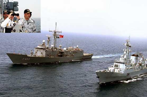 Pak-Turk bilateral naval exercise 'Turgutreis' concludes