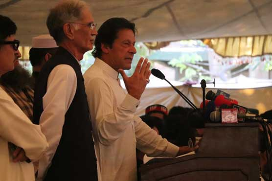 Will put problems of tribal people before army chief: Imran Khan