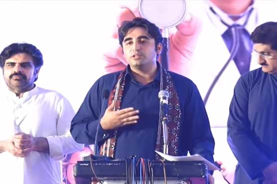 Revolution in Thar will lead to a change in entire Sindh: Bilawal
