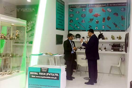 Pakistan Pavilion attracts visitors during Automechanika 2018 in Istanbul
