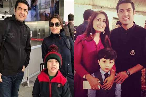 Anchor Iqrar-ul-Hassan shares pictures of his both wives, son