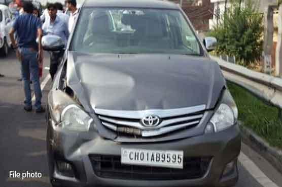 Punjab Governor's daughter injured in road mishap