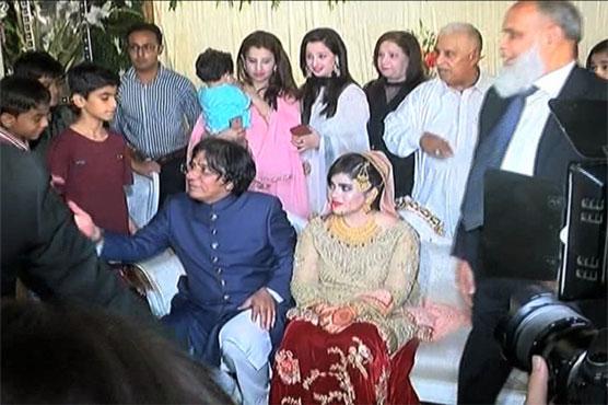 MQM leader Rauf Siddiqui hosts valima reception in Karachi