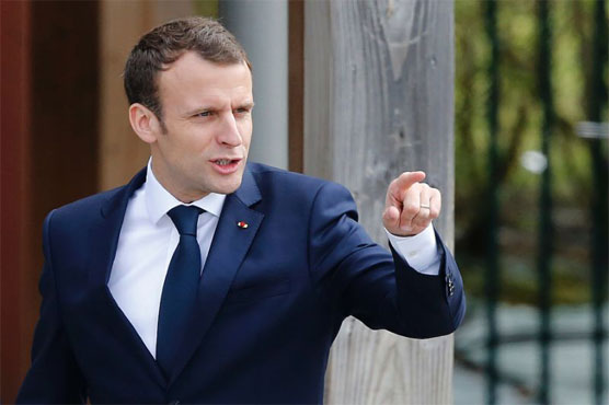 Macron: Assad regime used chemical weapons on Syria's Douma