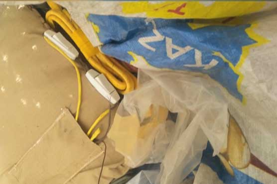 Two suicide jackets, weapons found in Islamabad