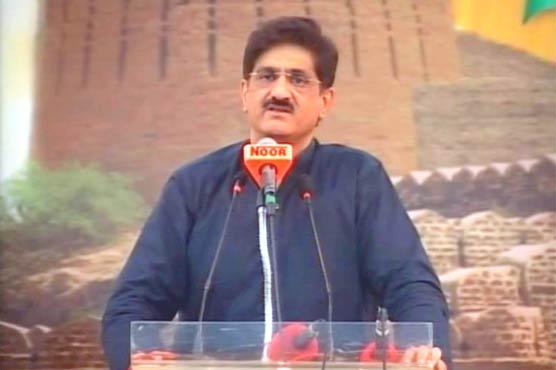 PML (N) usurped Sindhis' rights: CM Shah
