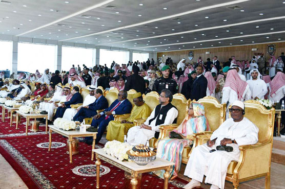 PM Abbasi, COAS attend closing ceremony of Gulf Shield-1 in KSA