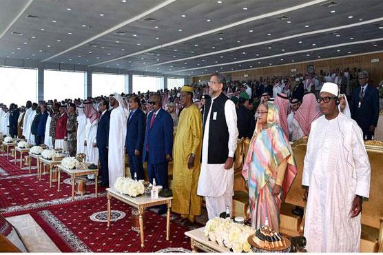 Saudi Arabia hosts multi-nation military drills
