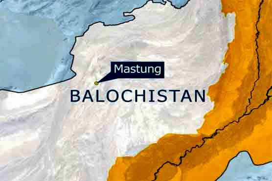 Road mishap leaves two dead, 22 injured in Mastung