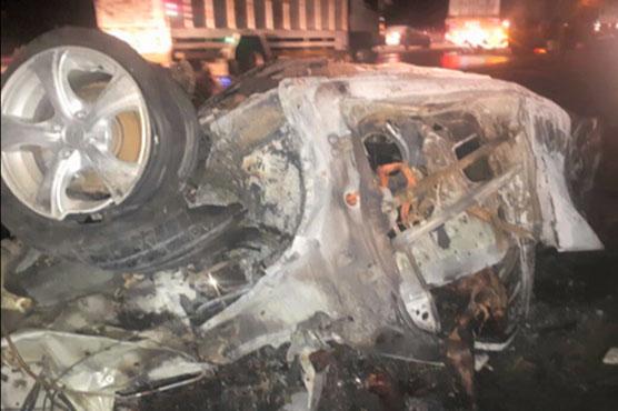 Women, children among six killed in Jamshoro road mishap