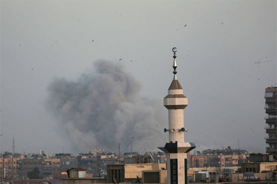Syrian Forces Bombard Islamic State-Held Areas in South Damascus