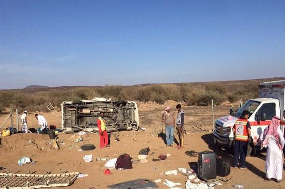Four British pilgrims killed in Saudi road crash