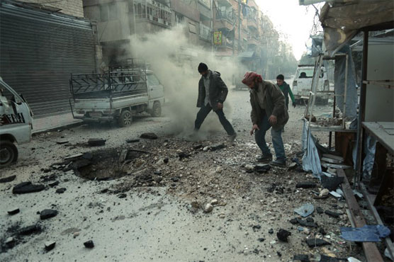 Rebels set to leave new area outside Damascus