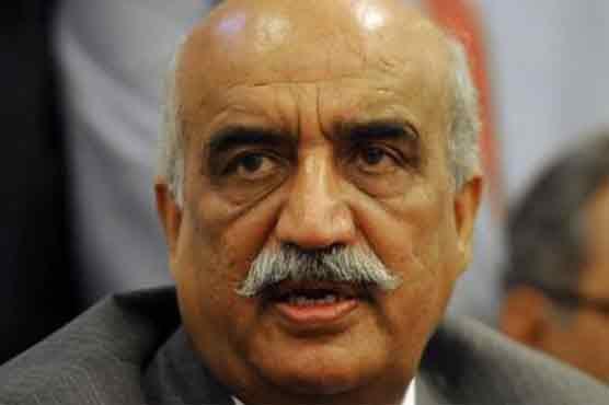 Federal govt lacks mandate to table budget for FY 2018-19: Khurshid Shah