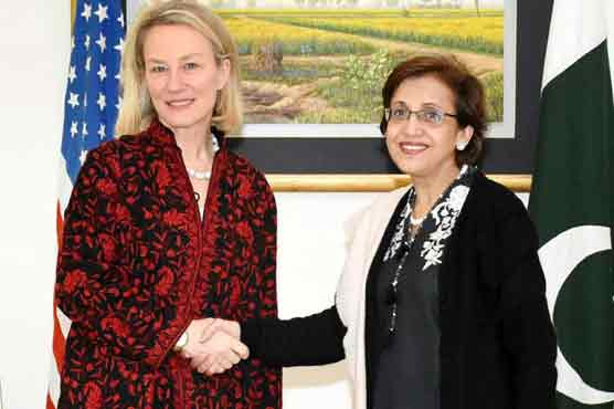 Tehmina, Wells discuss Pak-US 'common grounds' on Afghan strategy