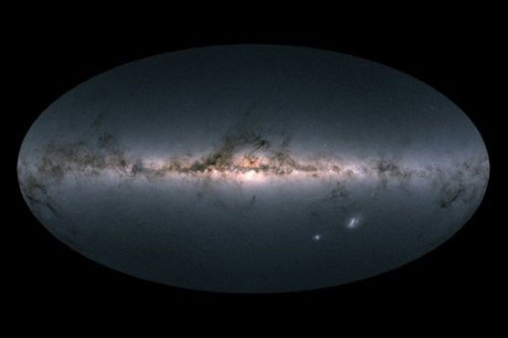 Most detailed 3D map of Milky Way created - includes 1.7 billion stars