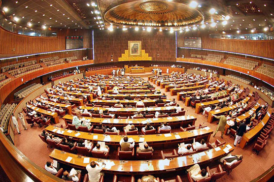 Opposition stages walk-out from budget session in protest