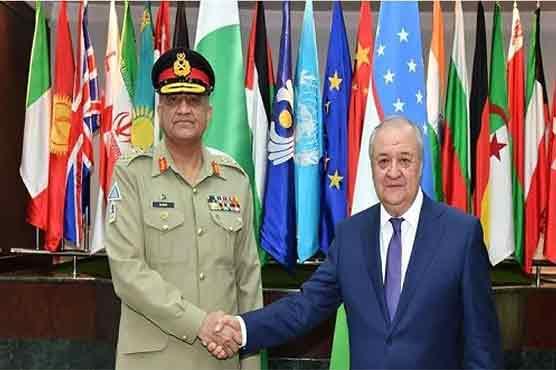 COAS reaches Uzbekistan, meets Uzbek President