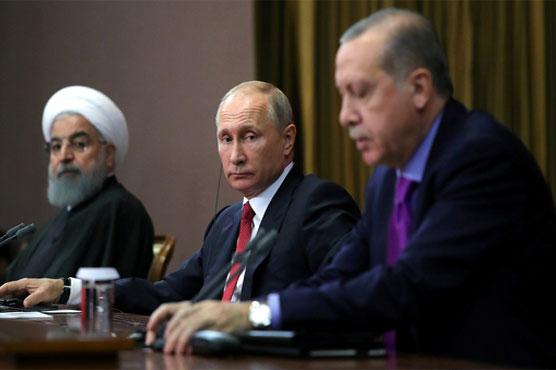Russia, Turkey, Iran to hold Syria talks