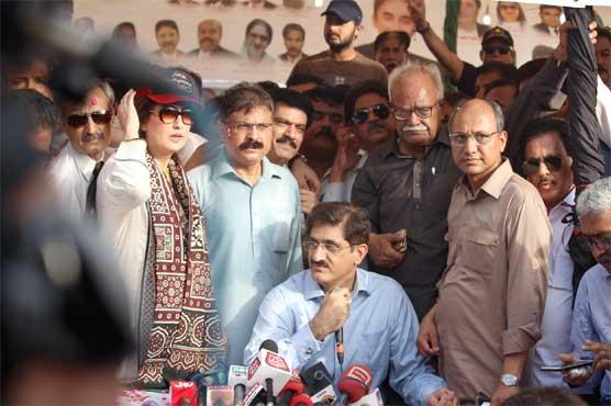 Rid Karachi of those who held it hostage: CM Murad
