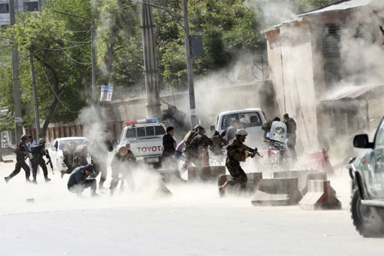 Twin Kabul suicide blasts kill at least 25, including journalists