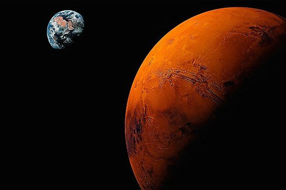 Mars is invading Earth!