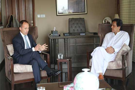 British High Commissioner felicitates Imran Khan on victory in election
