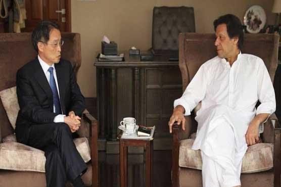 Japan felicitates Imran Khan on election victory
