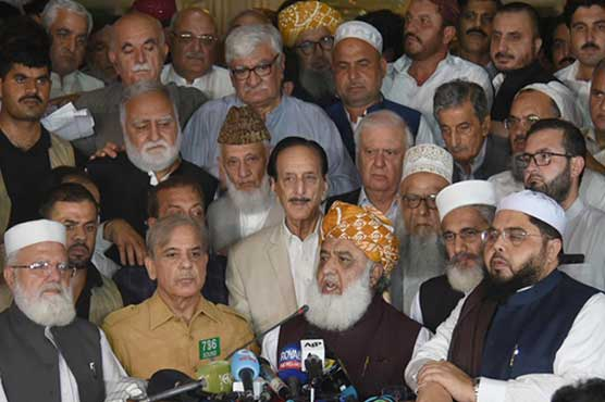 Election 2018: Joint opposition announces protest on August 8, 9