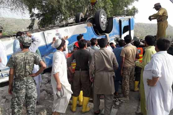 Deadly accident in Kohat takes lives of 18 passengers